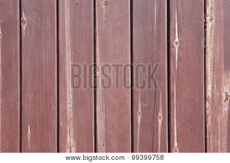 Timbered Fence