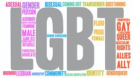 image of intersex  - LGBT word cloud on a white background - JPG