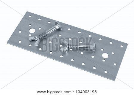Perforated Metal Sheet And Screw (bolt) Nuts