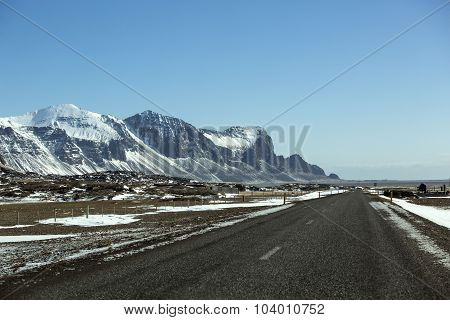 Ring Road In Iceland, Wintertime