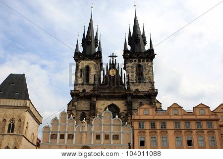 Church of Our Lady before Tyn (The Church of Mother of God before Tyn) Prague, Czech Republic