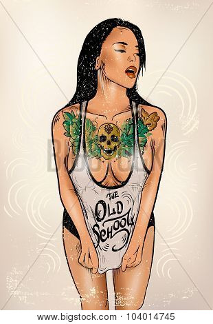 tattoo woman