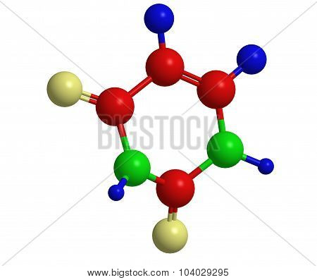Molecular Structure Of Uracil