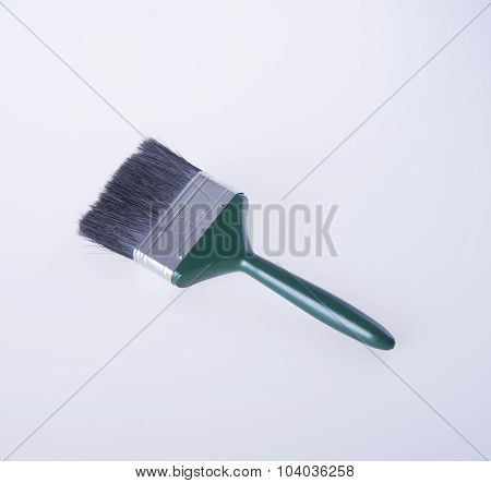 Paint Brush. Paint Brush On Background. Paint Brush On A Background.