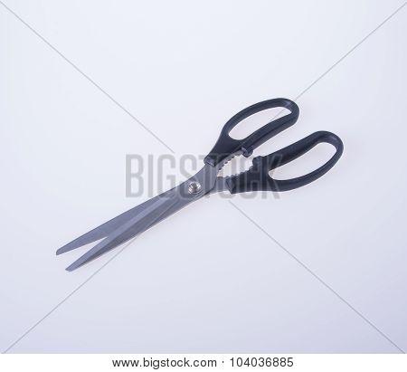 Scissors. Scissors On Background. Scissors On A Background.