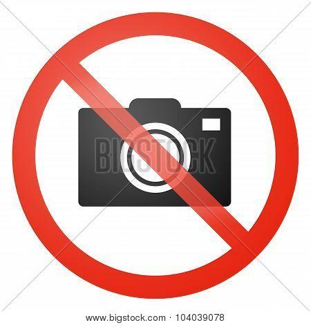 No Photos Allowed Sign