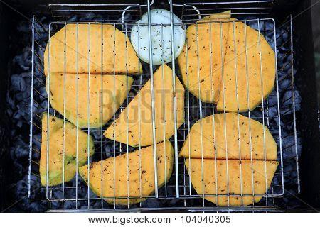 Cooking Of Pumpkin