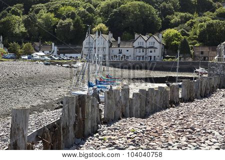 Porlock Weir In Somerset