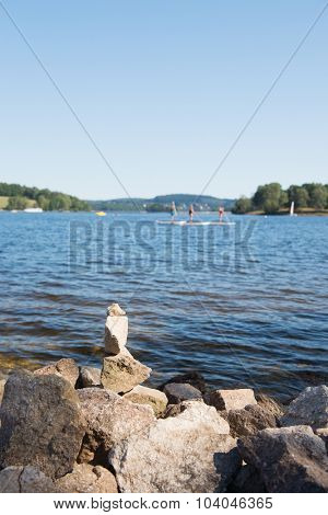 Lac de Vassiviere in the French Limousin