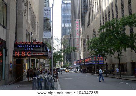 West 50th Street NYC