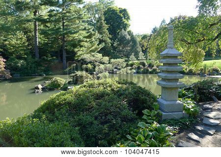 Stone Pagoda in Fairmount Park