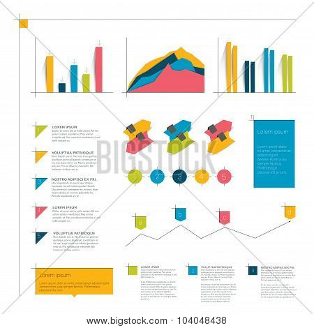 Infographics Flat Elements.