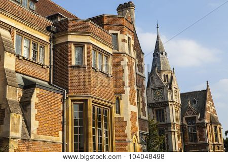 Pembroke College In Cambridge