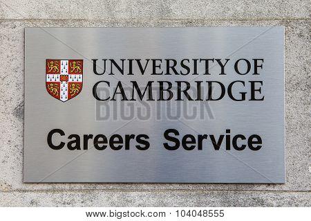 University Of Cambridge Careers Advice