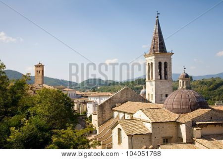 Cathedral Spoleto, Umbria, Italy