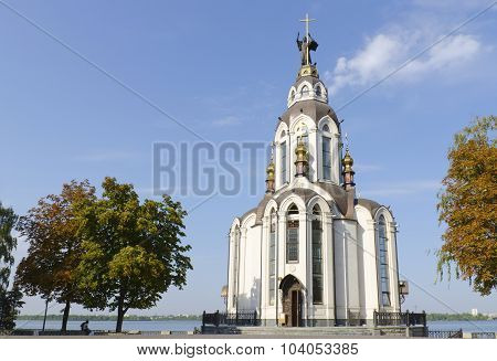 The Temple In Honor Of St. John The Baptist