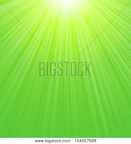 Illustration Abstract Yellow Green Sunbeam Nature Background