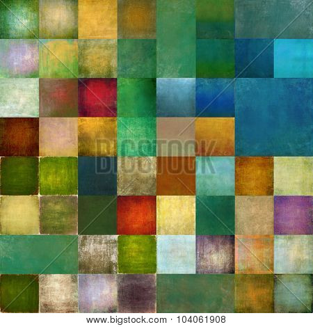 Textured geometric background image and useful design element