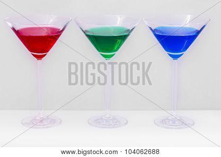 Copas de colores