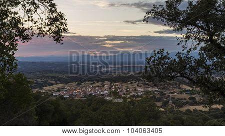 Atardecer en Extremadura