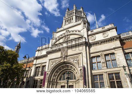 Victoria And Albert Museum In London