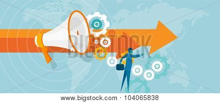 leader leadership in business concept team work vision visionary for success businessman  lead