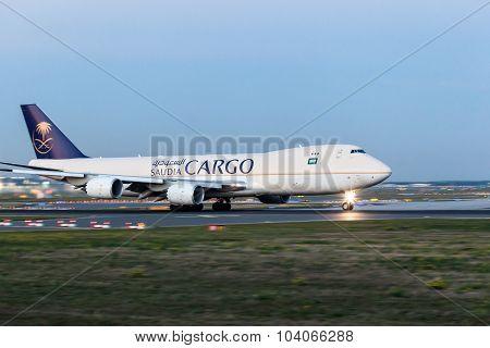 Saudia Cargo Boeing 747