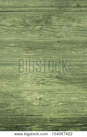 Green Painted Wood Texture
