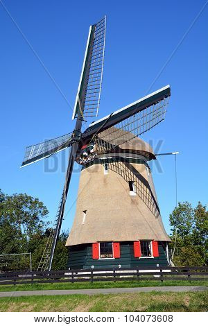 Windmill in Edam