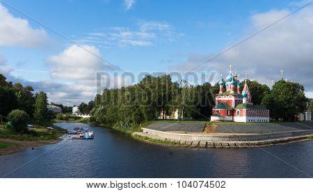 Uglich Landmark on the Volga River
