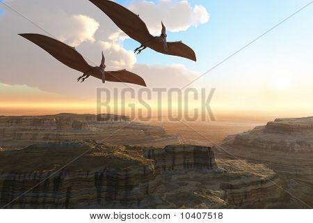 Canyon pré-históricos