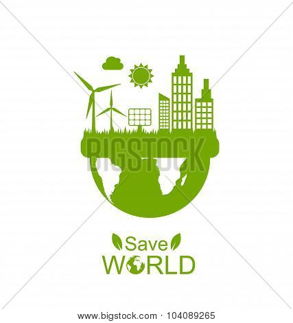 Concept of Save World