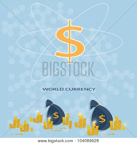 Money Control Global Monetary System Banking Online Payments Banking Business Finance Vector