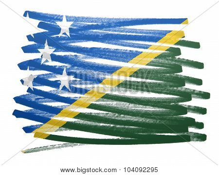 Flag Illustration - Marshall Islands