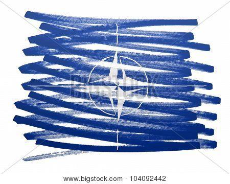 Flag Illustration - Nato