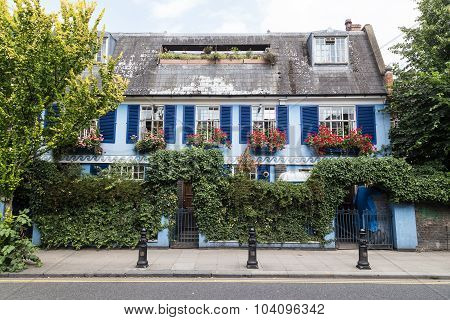 Colorful Buildings In Notting Hill London