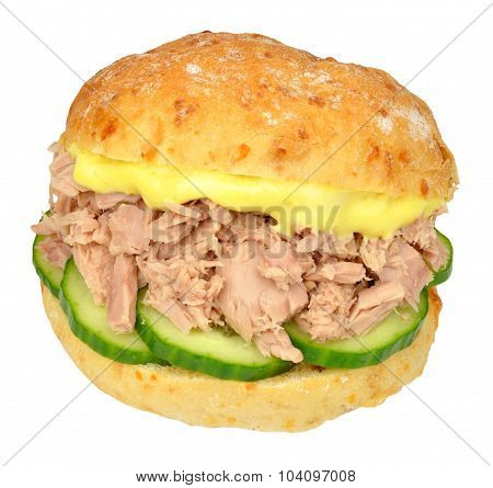 Tuna And Cucumber Sandwich Roll