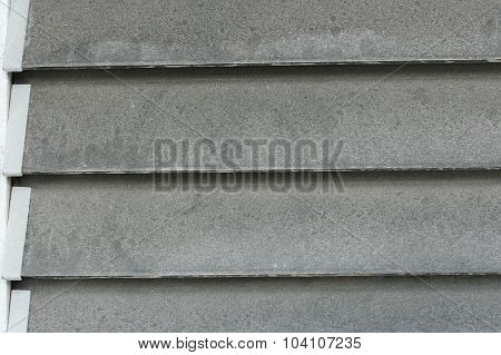 Dirty glass louver