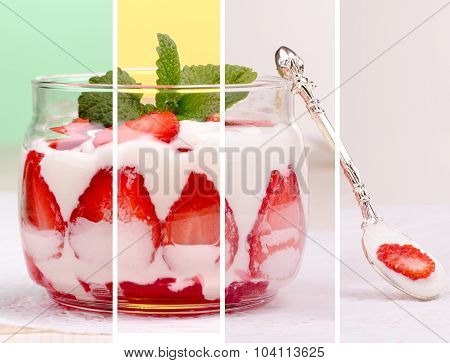 Collage Is A Delicious Dessert