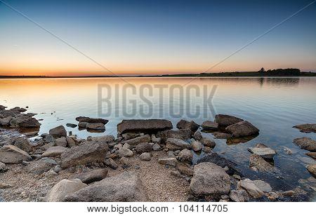 Dusk At Colliford Lake