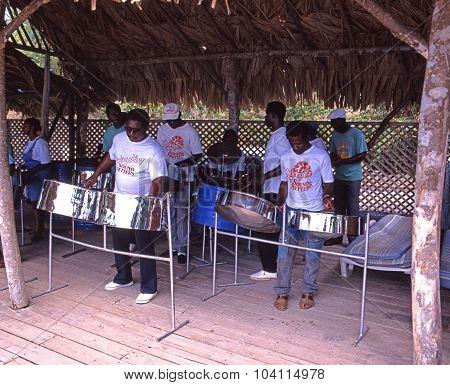 Steel Band, Tobago.