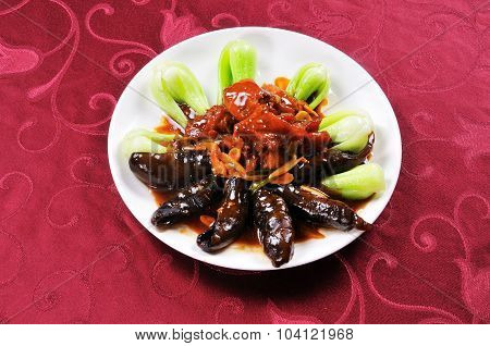 Sea cucumber dishes