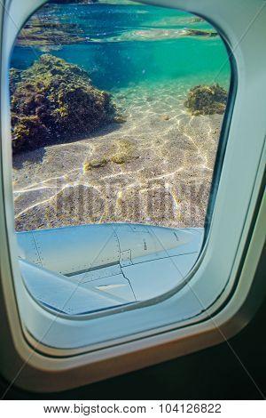 Airplane Under Water