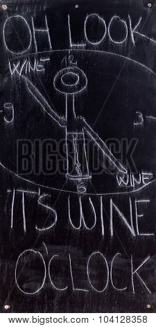 LJUBLJANA, SLOVENIA - JUNE 30: Blackboard with offerings of a restaurant in Ljubljana, Slovenia on June 30, 2015