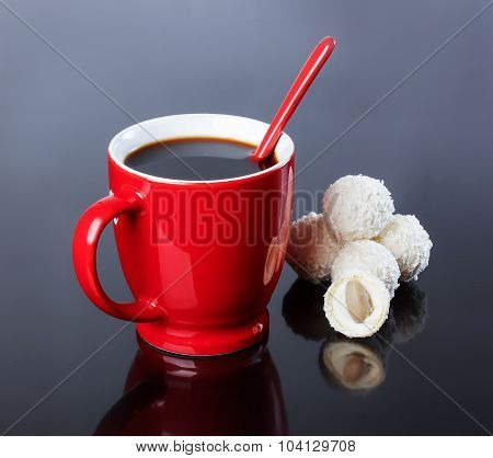 Cup Of Black Coffee, Coconut