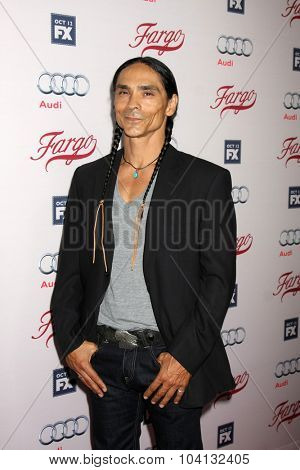 LOS ANGELES - OCT 7:  Zahn McClarnon at the