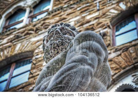 Hercules Statue In Piazza Della Signoria