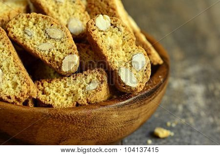 Cantuccini With Lemon And Pistachio.