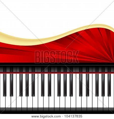 piano template