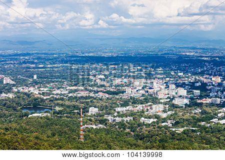 Chiangmai Aerial View